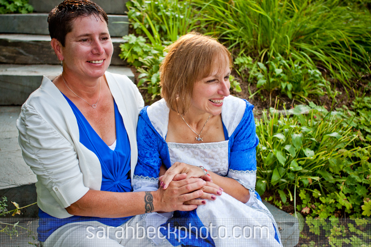 Once in a Blue Moon: Dee&Deb's 8.31.12 Wedding!